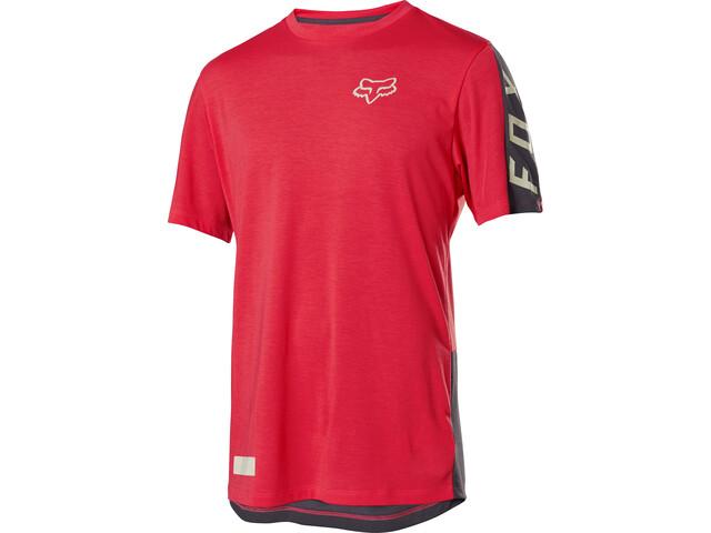 Fox Ranger Dri-Release Fox Jersey Korte Mouwen Heren, bright red